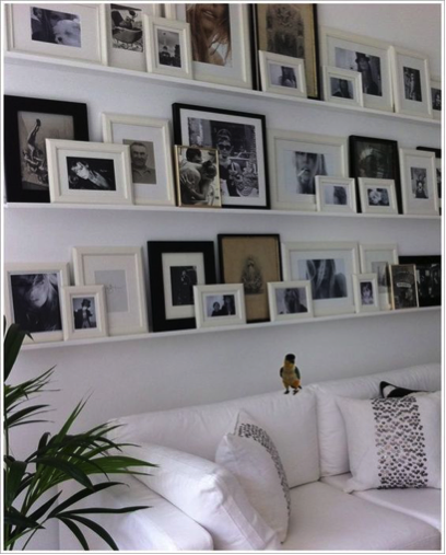 disposition de tableaux sur un mur id es pour organiser. Black Bedroom Furniture Sets. Home Design Ideas